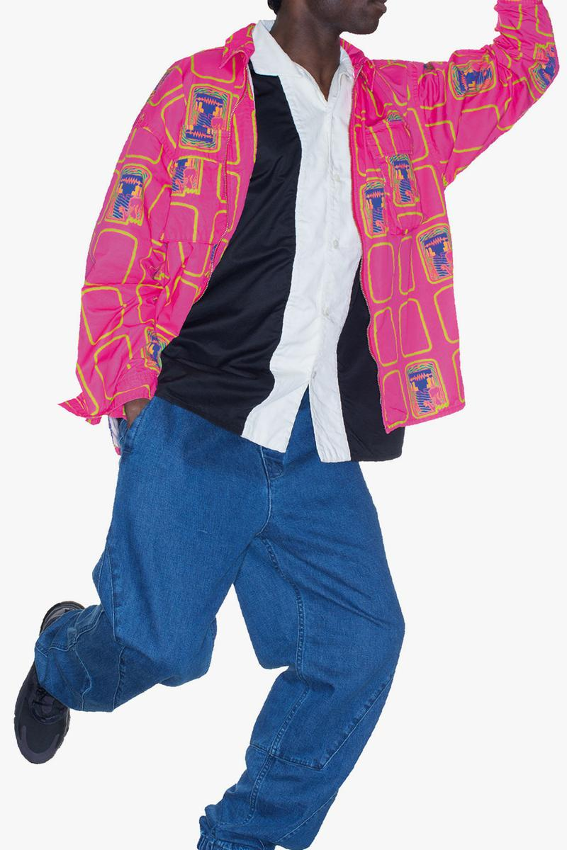 Cav Empt Spring Summer 2020 Lookbook sk8thing toby feltwell c e ss20 graphics tokyo streetwear sweaters crewnecks jackets layers digital british uk movement essentials fleece utilitarian