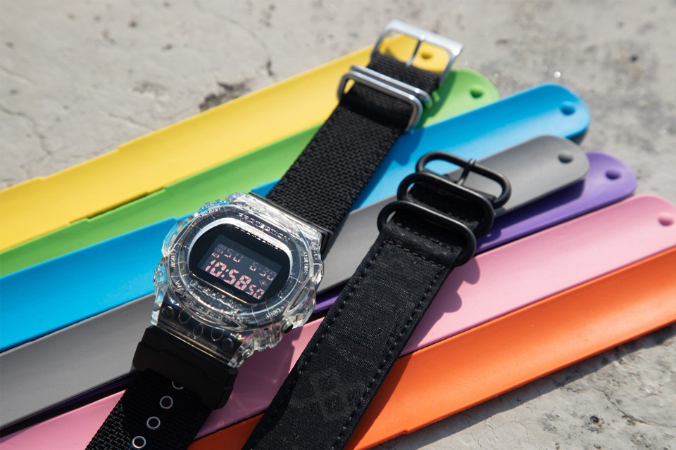 CLOT Offers an Array of Straps With Its Casio G-SHOCK DW-5750 Collab