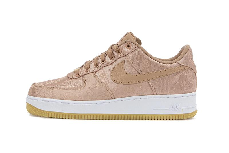 clot nike air force 1 low rose gold silk donnie yen cj5920 600 release date info photos price