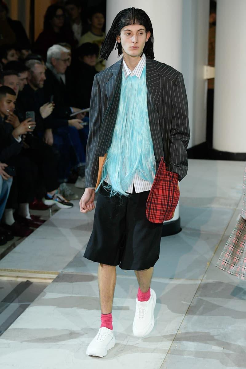 COMME des GARÇONS HOMME PLUS FW20 fall winter 2020 collection menswear runway george cox collaboration sneaker paris fashion week pfw