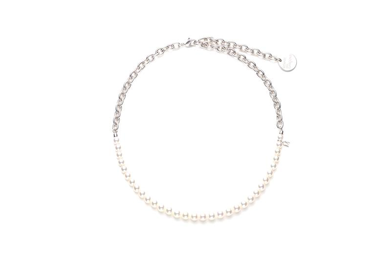 COMME des GARÇONS x Mikimoto Pearl Necklace Capsule Collection Rei Kawakubo Unisex Necklaces Jewelry Design CDG Japanese Label Collaboration Closer Look Release Information