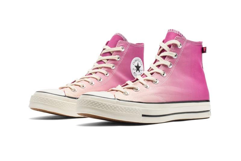 Converse Chuck 70 Hi Gradient Primaloft Rose Maroon Royal Blue Release 168111C 168112C Release info Buy Price