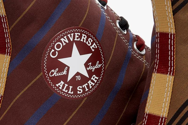 converse chuck 70 hi high varsity pack tan burgundy black green orange white stripes release date info photos price