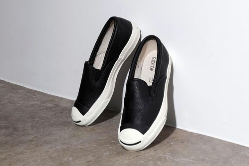 Converse Japan Whips up Premium Jack Purcell Slip-On for BIOTOP