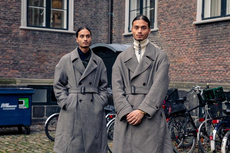 Copenhagen Fashion Week Fall/Winter 2020 Streetstyle Look Menswear Womenswear Streetwear Photograpy Best Look Layering Cold Weather Accessories Style Styling Footwear Roundup Shots