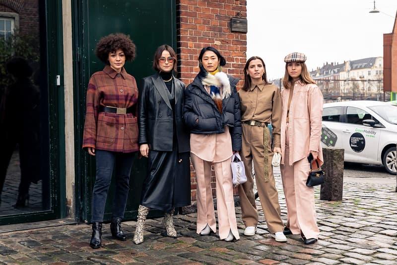 Copenhagen Fashion Week Fall/Winter 2020 Streetstyle Look Menswear Womenswear Streetwear Photograpy Best Look Layering Cold Weather Accessories Style Styling Footwear Roundup Shots
