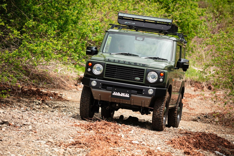 You Can Now Convert Your Suzuki Jimny Into a Baby Land Rover Defender