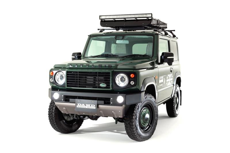 DAMD little D  Suzuki Jimny Land Rover Defender Kit Japan bodykit off-roading suvs mods outdoors