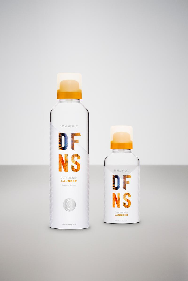 DFNS Nigel Sylvester Travel Care Essentials Collection DFNS Cleaner Kit DFNS  Apparel Lauder DFNS Footwear Protector DFNS Denim Launder DFNS Footwear Refresher and the DFNS Footwear Cleaner