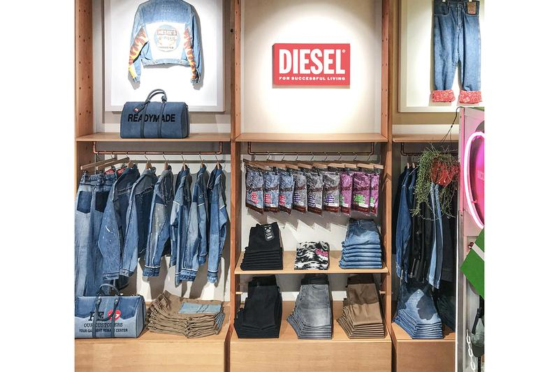 Diesel Announces Partnership With Fred Segal red tag collaboration READYMADE A-Cold-wall* samuel ross yuta hosokawa eric emanuel purchase info details