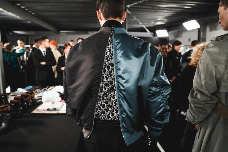 Dior Fall/Winter 2020 Men's Collection Closer Look showroom re see back stage fw20 paris fashion week pfw