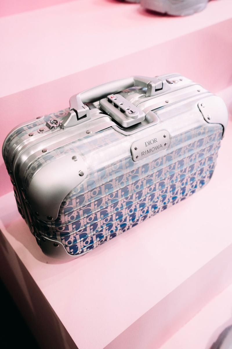 Dior x RIMOWA Collab Bags, Luggage Shop Now purchase available release date january 15 2020 cabin personal clutch Multiwheel TRUNK HAND CASE