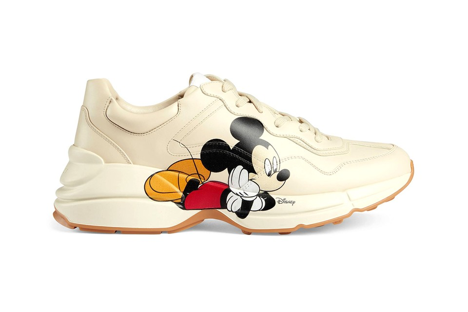 Flipboard Gucci S Five Part Mickey Mouse Sneaker Collection