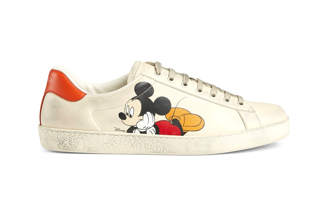 Disney \u0026 Gucci\u0027s Mickey Mouse Sneakers Collection