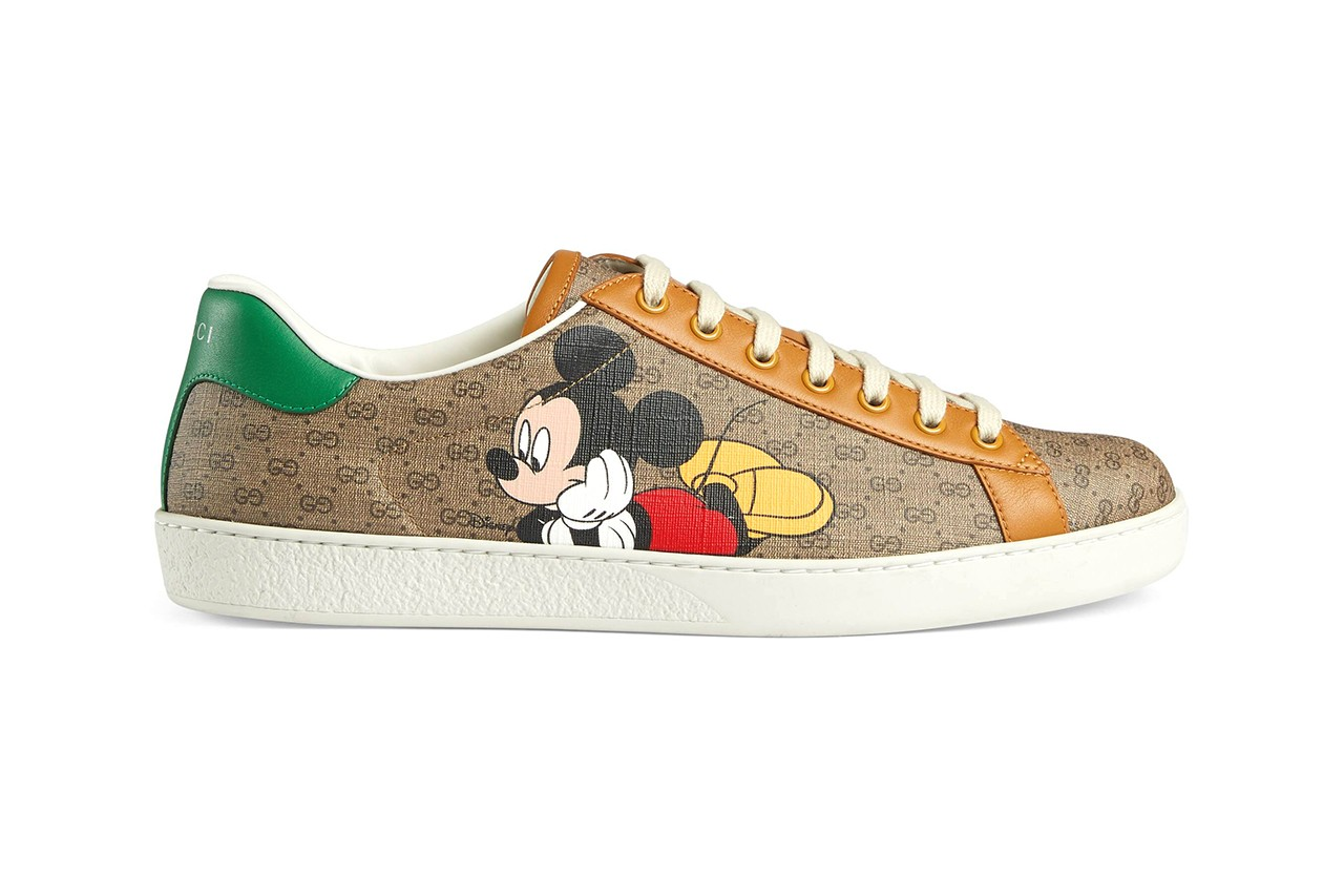 Disney \u0026 Gucci's Mickey Mouse Sneakers