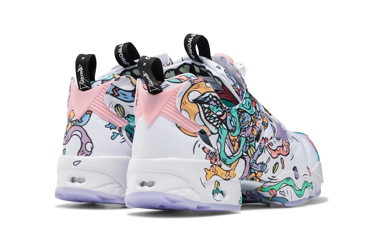 distortedd reebok instapump fury its a womans world FU7743 white light pink black release date info photos price