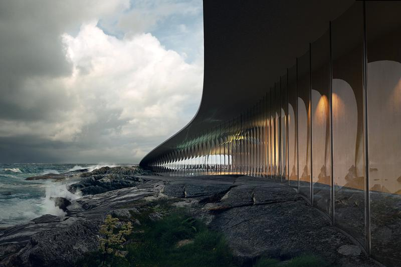 Dorte Mandrup 'The Whale' Exhibition Building Design Andøya Island Norway Andenes