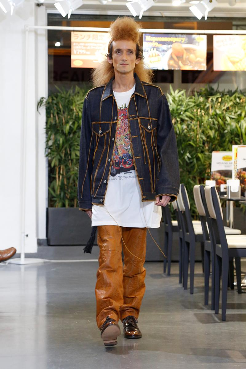 DOUBLET Fall Winter 2020 Runway Collection Paris Fashion Week Men's Release Info Date Look image Full Masayuki Ino