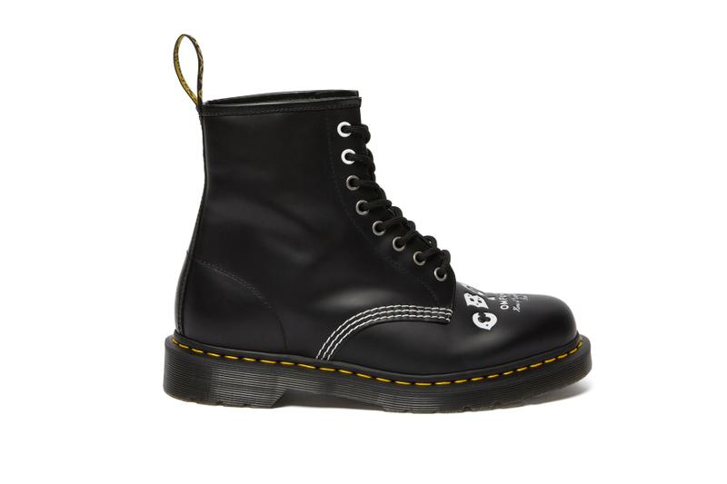 CBGB x Dr. Martens 1460 Boot collaborations footwear OMFUG