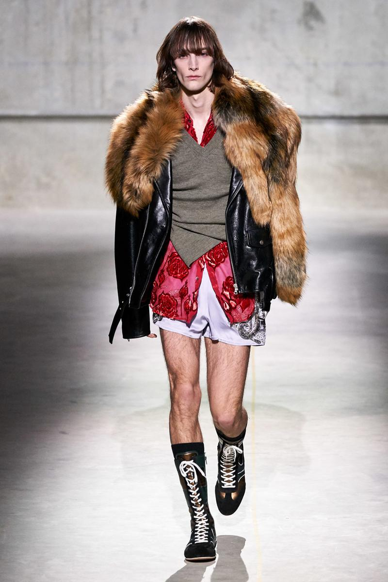 dries van noten fall winter 2020 mens runway show collection menswear paris fasion week pfw fw29 presentation