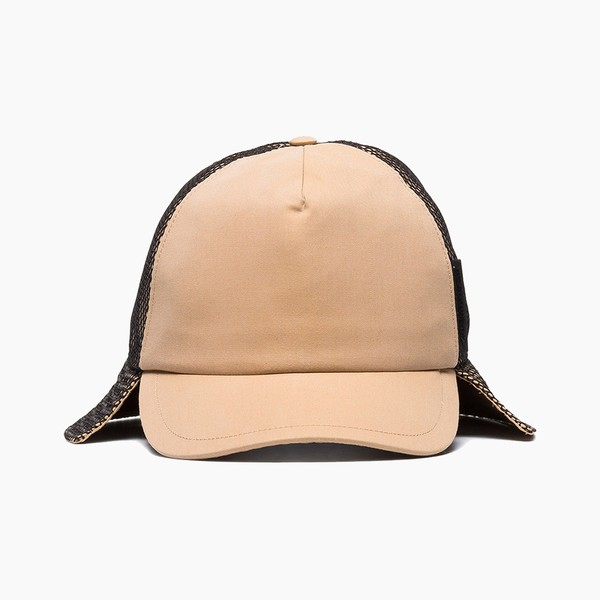 Burberry Brown Trucker Flap Hat