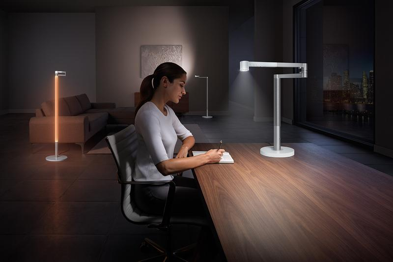 Dyson Lightcycle Morph Light adjustable circadian rhythm floor desk task ambient warm glow seasonal depression