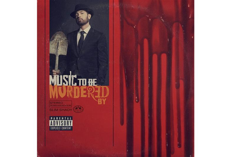 Eminem 'Music To Be Murdered By' Album Stream hip-hop rap spotify listen now apple music detroit juicewrld skylar grey anderson paak q-tip royce da 5'9 black thought marshall mathers