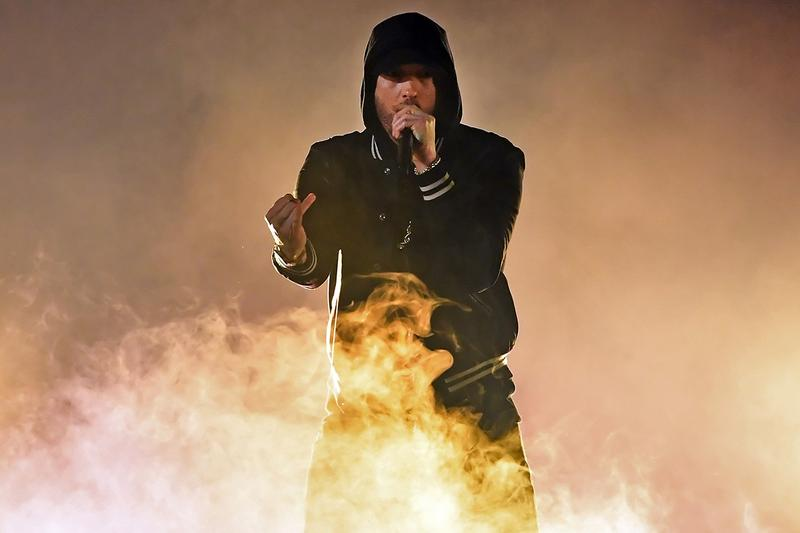 Eminem Music To Be Murdered By Mac Miller Circles Billboard 200 Debut