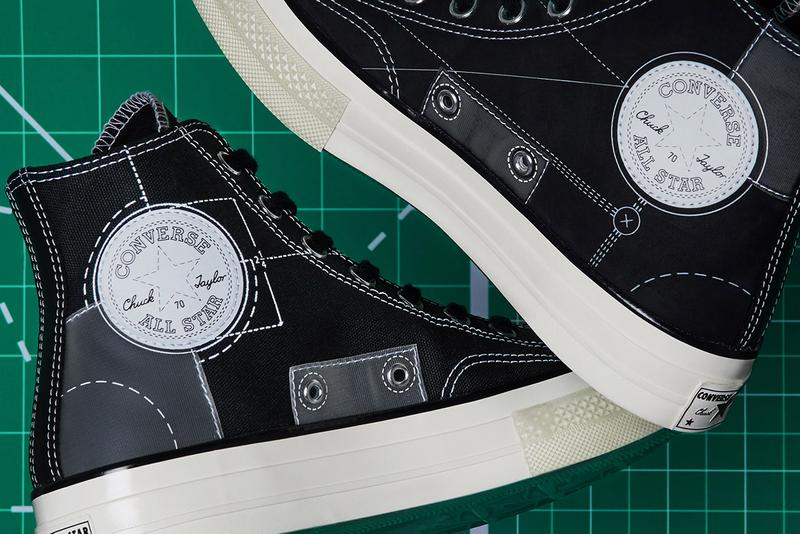 END. clothing converse blueprints pack chuck 70 hi jack purcell release information black white egret natural ivory register February 1 165745c 165746c