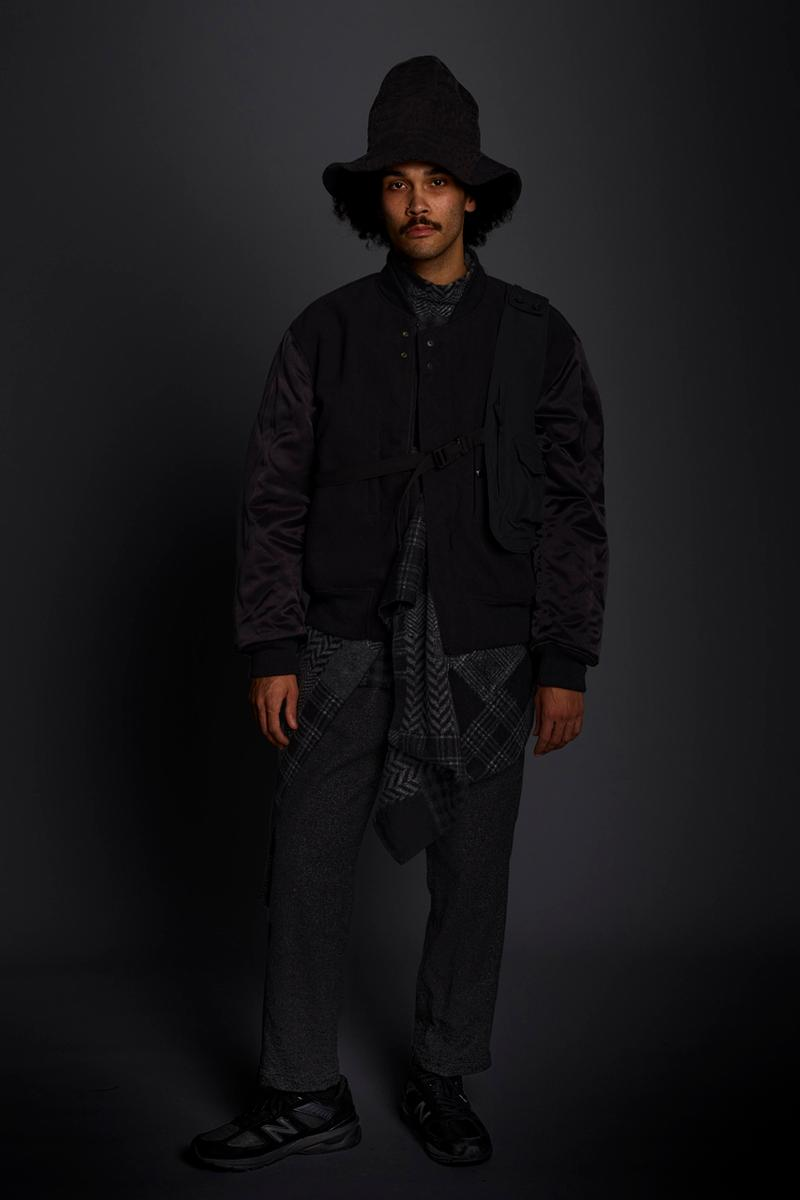 Engineered Garments Fall/Winter 2020 Collection Lookbook fw20 daiki suzuki new york new balance collaboration balance and tune