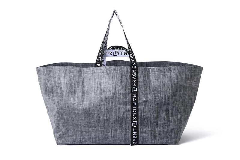 fragment design x RAMIDUS PARCO Collaboration Bags shibuya mall store hiroshi fujiwara tote xl