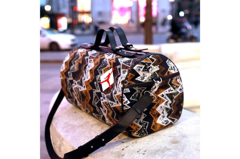 Franck Joubert Custom Leather Bag Designs Jordan Brand Patta PSG Lacoste Ralph Lauren Reebok FC Barcelona French Football Federation Nike