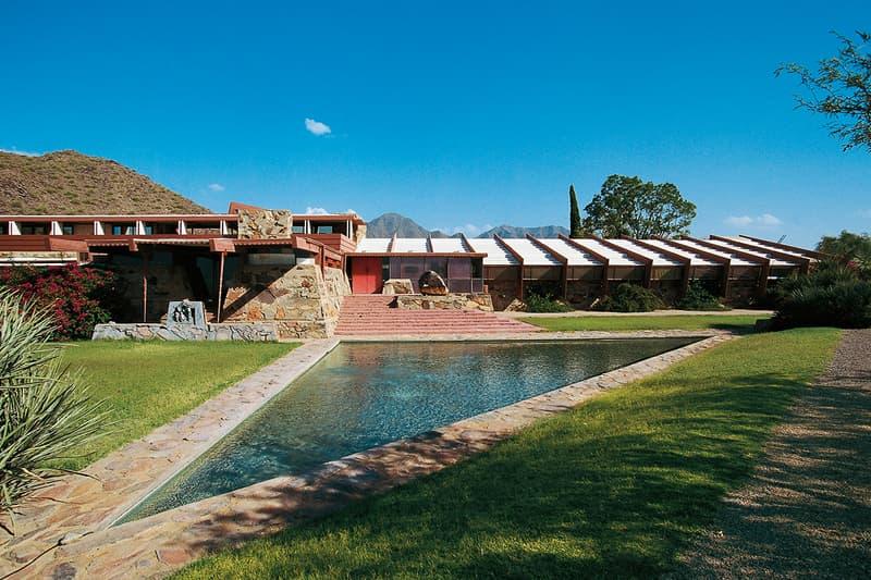 Frank Lloyd Wright Architecture School Close Taliesin 88 years old arizona design desert wisconsin