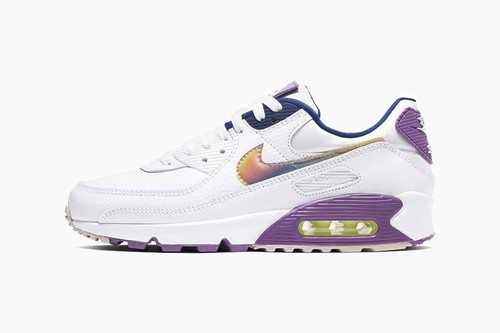 "Nike Air Max 90 SE ""White/Multi Color/Purple Nebula"""