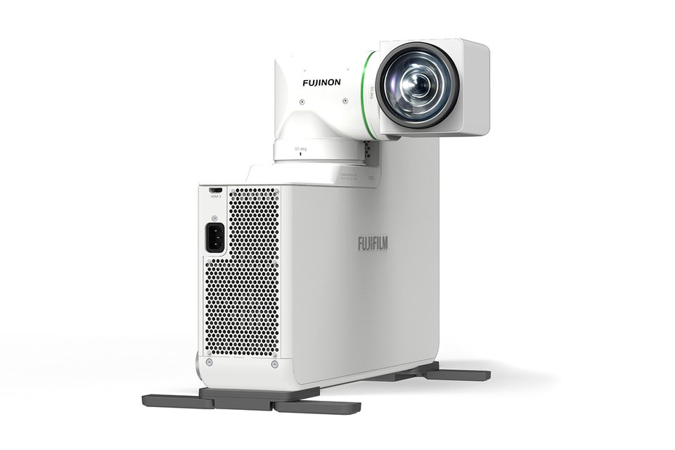 Fujifilm Releases World's First Dual-Axis Rotating Lens Projector