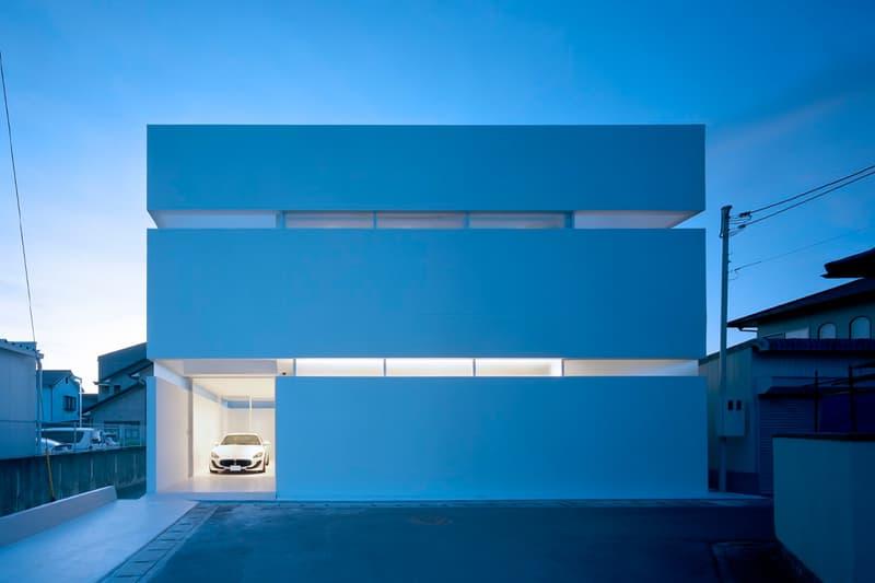 FujiwaraMuro Architects architecture design japan takamatsu residence house garage maserati granturismo