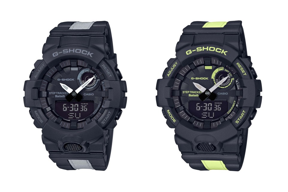 G-SHOCK Adds Four High-Vis Sports Models to Its G-SQUAD Lineup