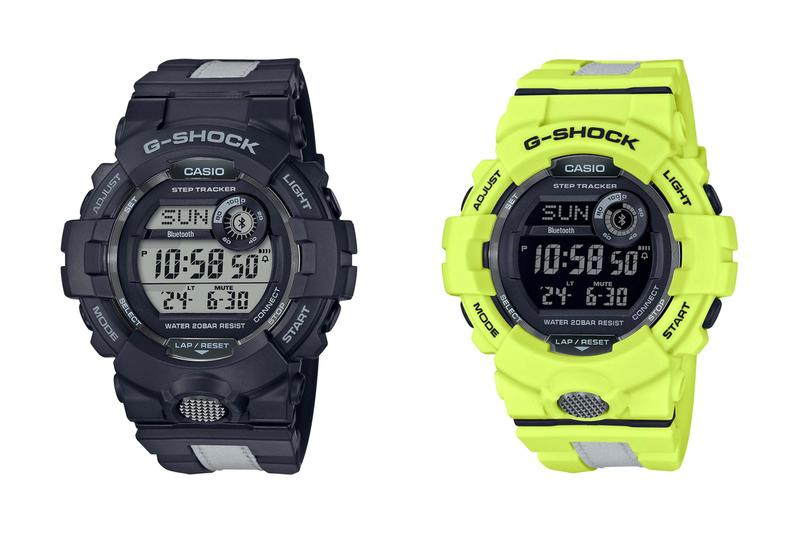 g shock squad casio watches timepieces accessories sports black grey neon yellow