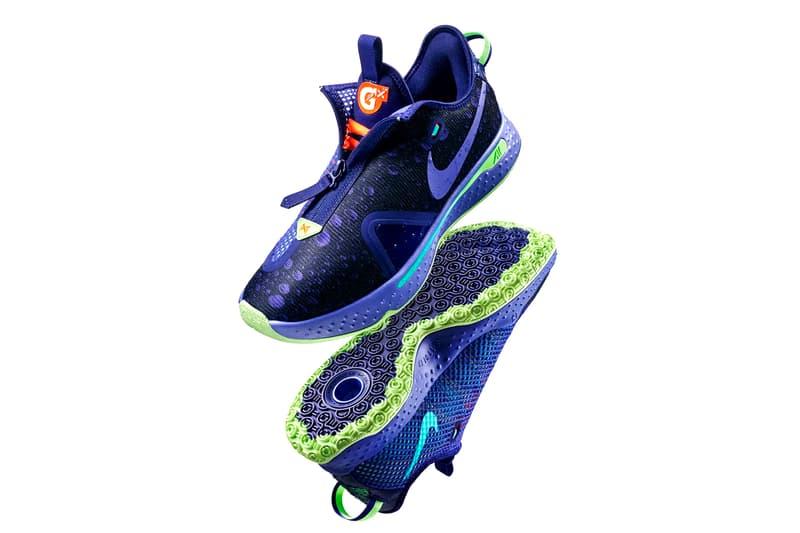 Gatorade Nike PG 4 GX Release CD5078-500 Info Date Buy Price Regency Purple