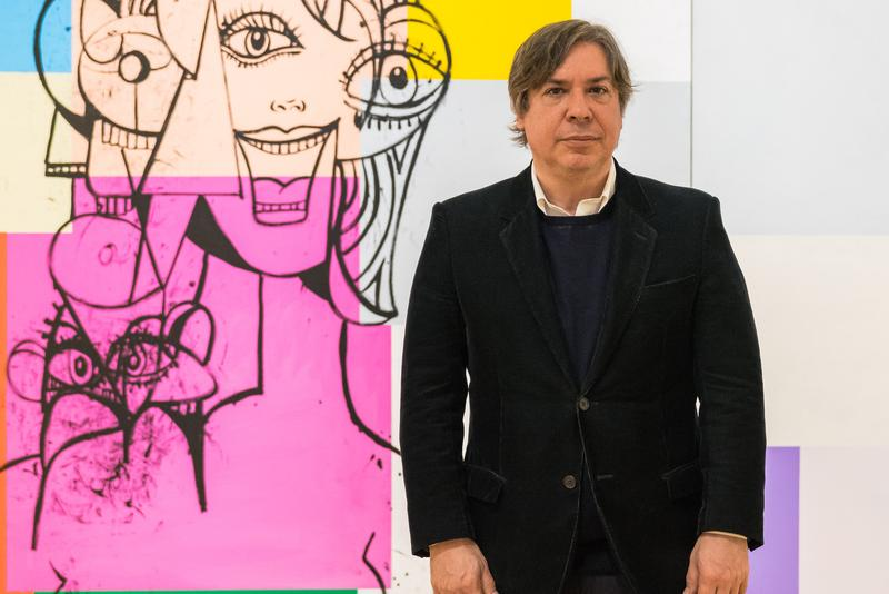 george condo hauser and wirth gallery representation contemproary art paintings artworks