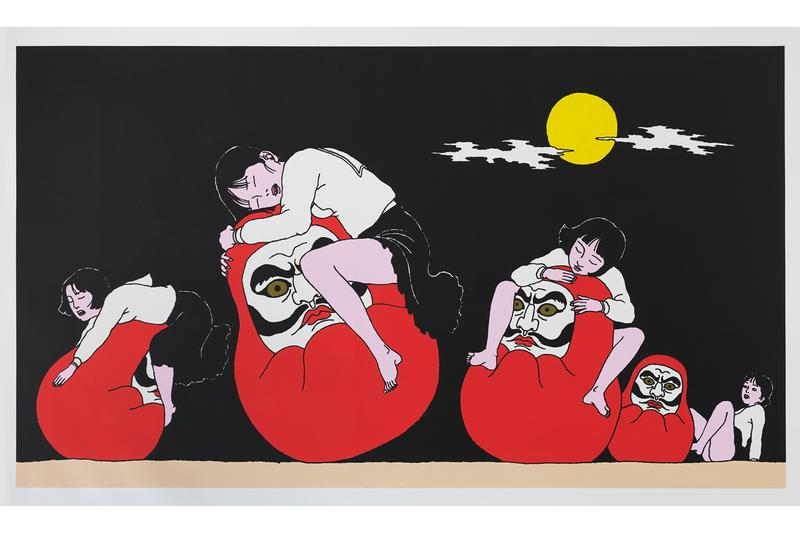 Toshio Saeki Passes Away 74 illustrator painter artist Godfather of Japanese Erotica playful japan underground tokyo gore Japanese folklore John Lennon Yoko Ono Some Time basel