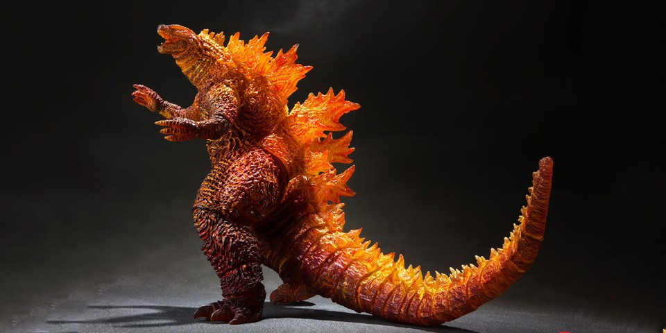Godzilla's Legendary Burning Transformation Now a Collectible Figure