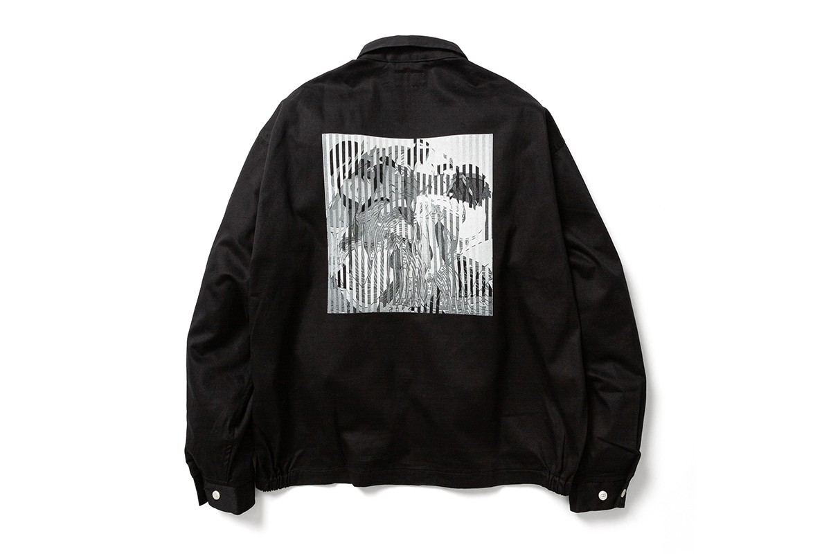 Goodhood FLAGSTUFF Kosuke Kawamura Goodstuff Capsule collection japanese artist launch party live collage event retailer uk british graphic tee sweats accessories tokyo limited edition collaboration january 2020 15 8