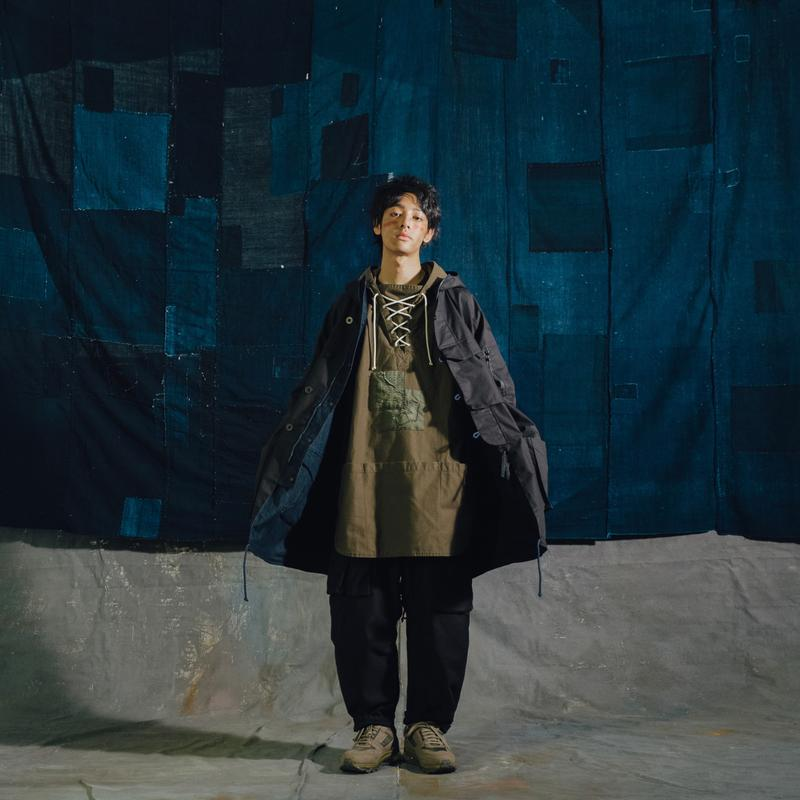 SYNDRO GOOPiMADE Golden Age Capsule collection heritage workwear japanese sashiko indigo dye technical parka coats fall winter 2020 taiwanese brand designer patwork boro