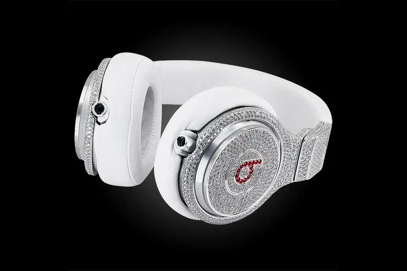 Graff Diamond Ruby Beats Pro Headphones 750K info Buy Price 1stdibs For Sale Release Super Bowl XLVI