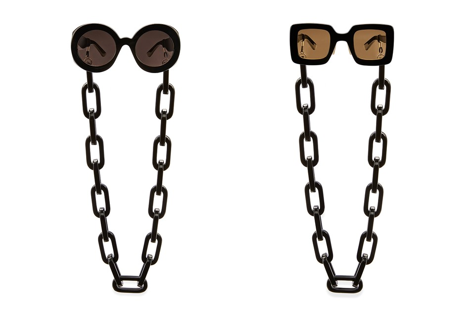 Gucci Offers up Eyewear Chains for SS20 Sunglasses