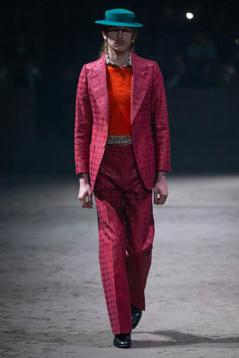 Gucci Fall/Winter 2020 Collection Runway Show milan fashion week fw20 alessandre michele presentation menswear