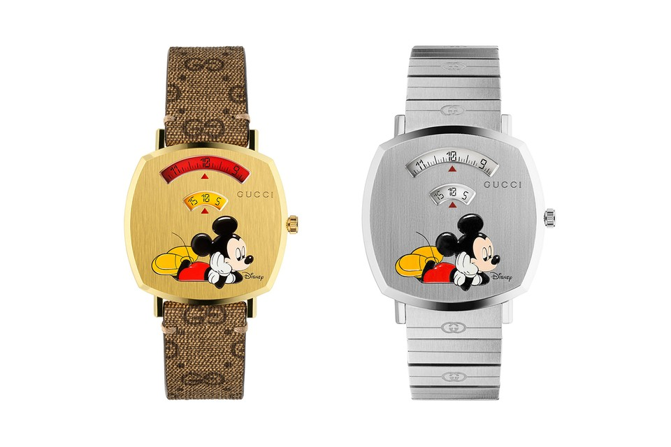 Gucci Applies the Disney Treatment to Its Grip Series of Watches