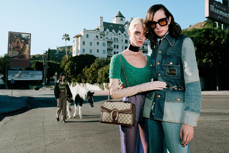 gucci spring summer 2020 advertising fashion campaign
