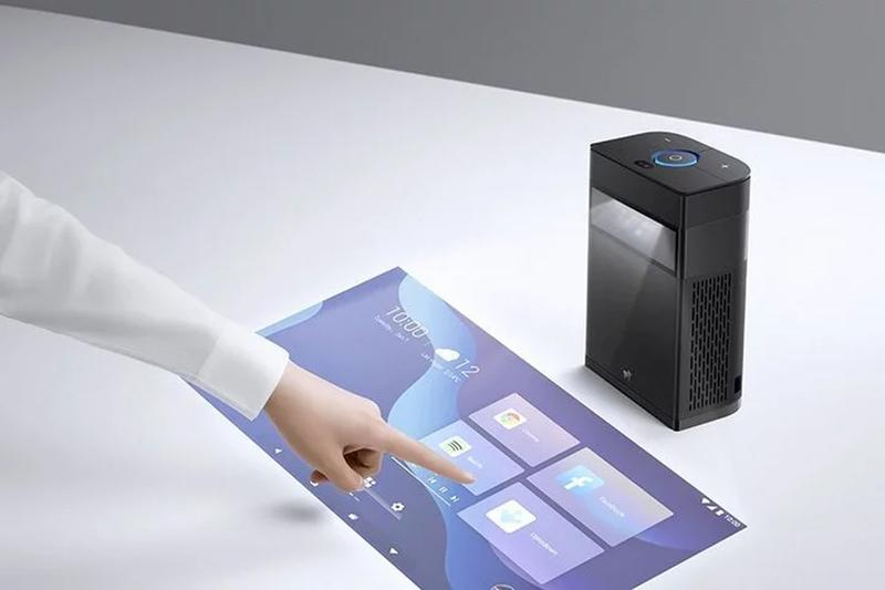 hachi infinite portable projector touchsreen ces 2020 innovation award honoree